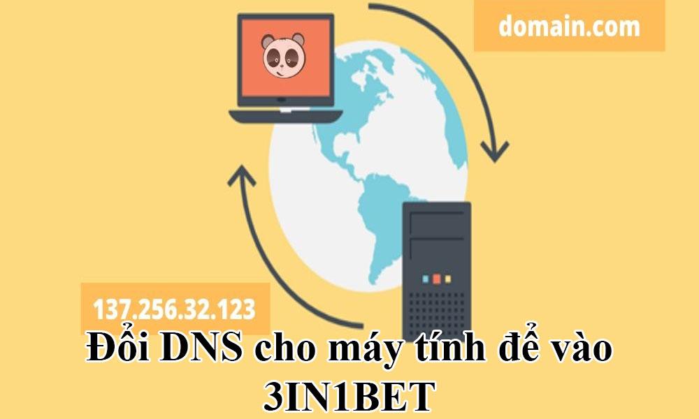 Đổi DNS cho máy tính để vào 3IN1BET