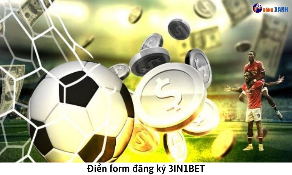 Điền form đăng ký 3IN1BET